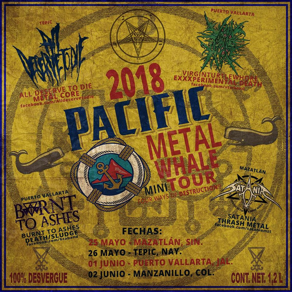 Pacific Metal Whale Mini Tour 2018