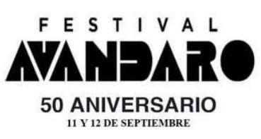 50 ANIVERSARIO DEL FESTIVAL AVANDARO