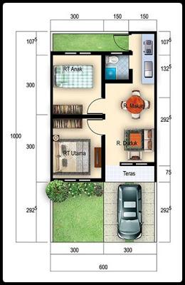 Rumah Type 3660 | Desain Rumah Minimalis 2019