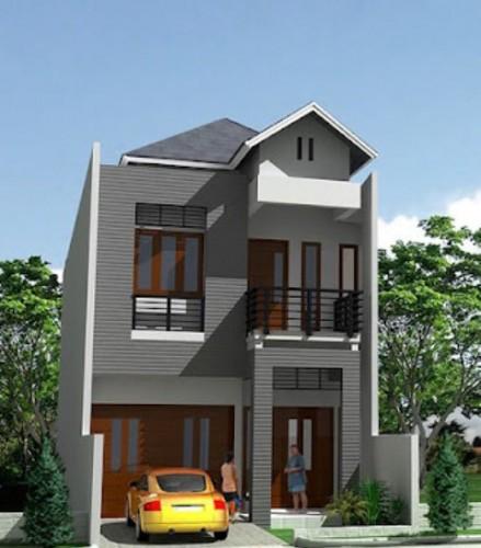 12 Desain Rumah Minimalis Modern 2 Lantai Mewah: 15 Gambar Rumah Minimalis Modern 2 Lantai Terindah