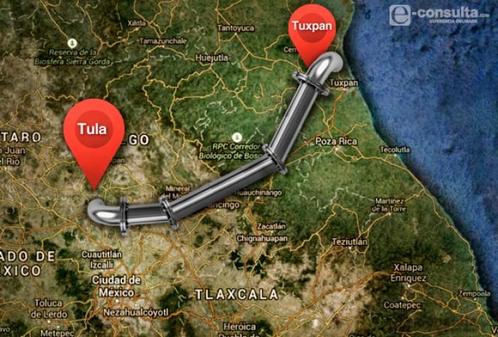 Resultado de imagen para gasoducto Tuxpan-Tula, transcanada
