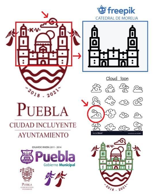 Logo piala emas concacaf 2021. Acusan que nuevo logo de Puebla capital es prefabricado