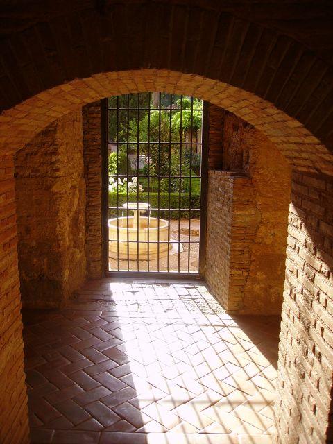 Sala de los secretos de la Alhambra.
