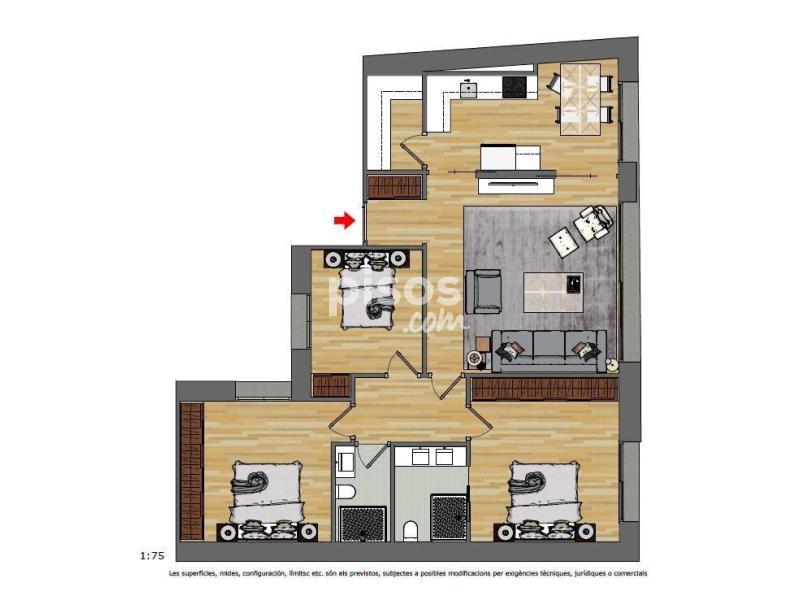 Desde € 215 por noche. Apartamento en venta en Andorra la Vella en Andorra la ...