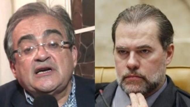 650x0 1543571271 5c0107478cce9 - 'ADVOGADINHO DO PT': Jornalista paraibano chama presidente do STF de 'babaca' - VEJA VÍDEO