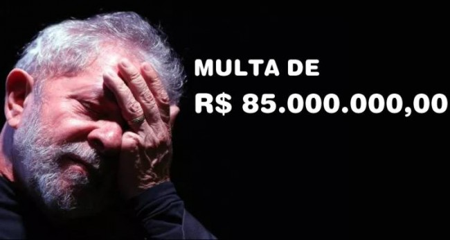 Resultado de imagem para Lula reclama da multa (Veja o Vídeo)