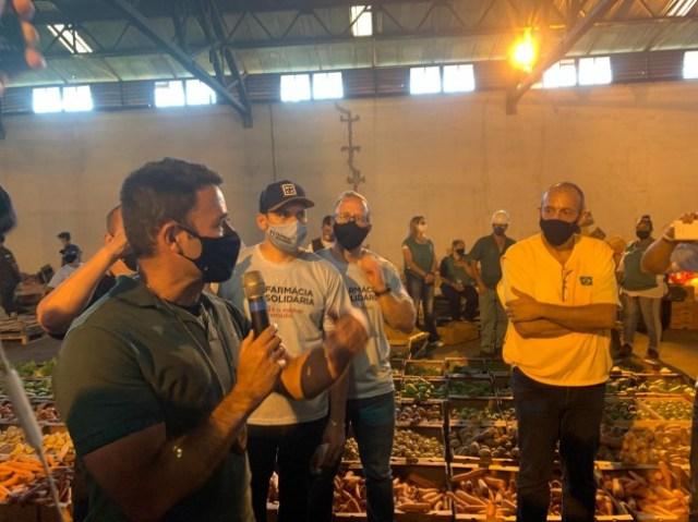 Alimentos preparados para doação em Araraquara - Divulgação