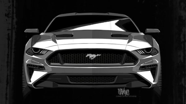 Visual do Mustang 2018 foi inspirado por Darth Vader ...
