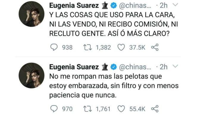 China Suárez respuesta a Cinthia Fernández