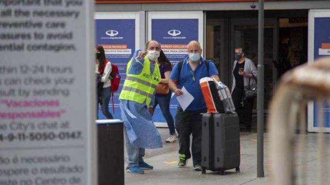 Argentina limits entry to country amid new strains, rising infections