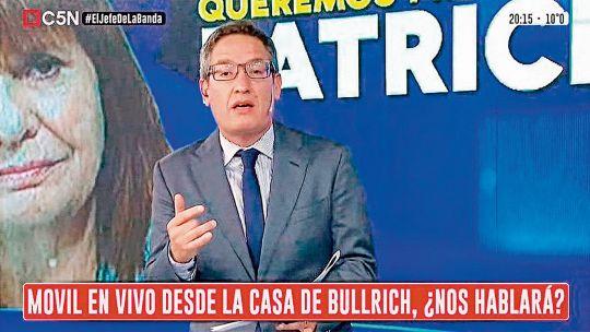Trastienda de su expulsión de Tomás Méndez de C5N por organizar el escrache a Bullrich