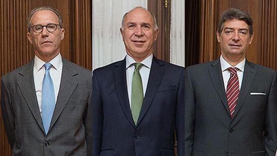 Carlos Rosenkrantz, Ricardo Lorenzetti y Horacio Rosatti 20210830