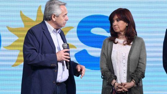 Alberto Fernández y Cristina Fernández