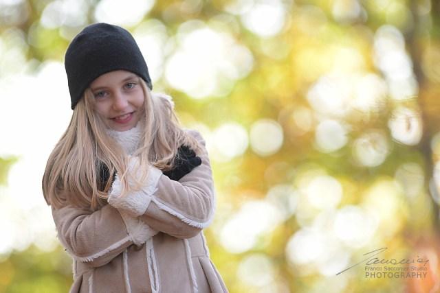 Greta nel bosco con Blu III