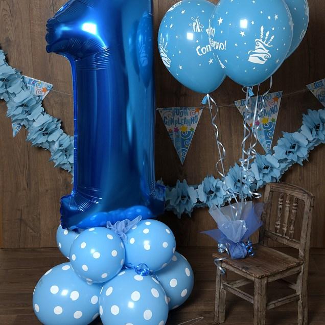 1! il mio primo compleanno.