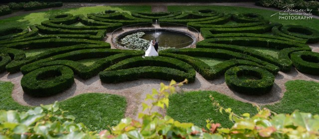 Il giardino all'italiana rappresenta una delle curiosità più interessanti del #castellodiagliè per chi lo visita la prima volta.
