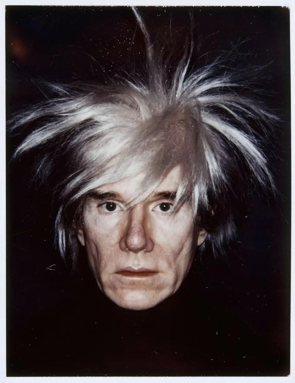 Andy Warhol Autorretrato