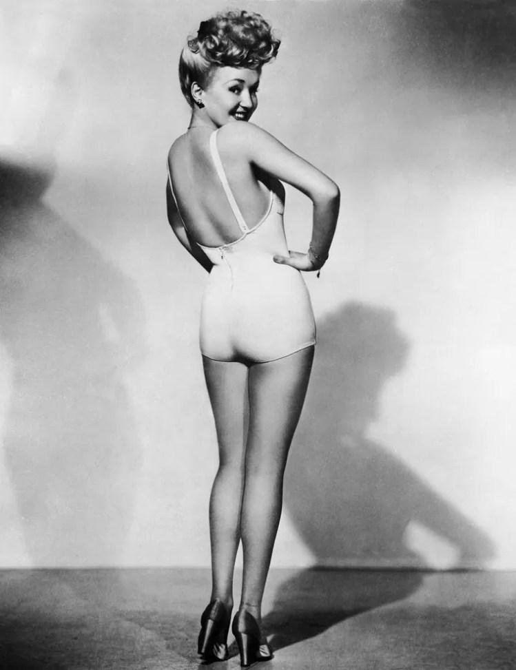 Betty Grable (Frank Powolny, Estados Unidos, 1943)