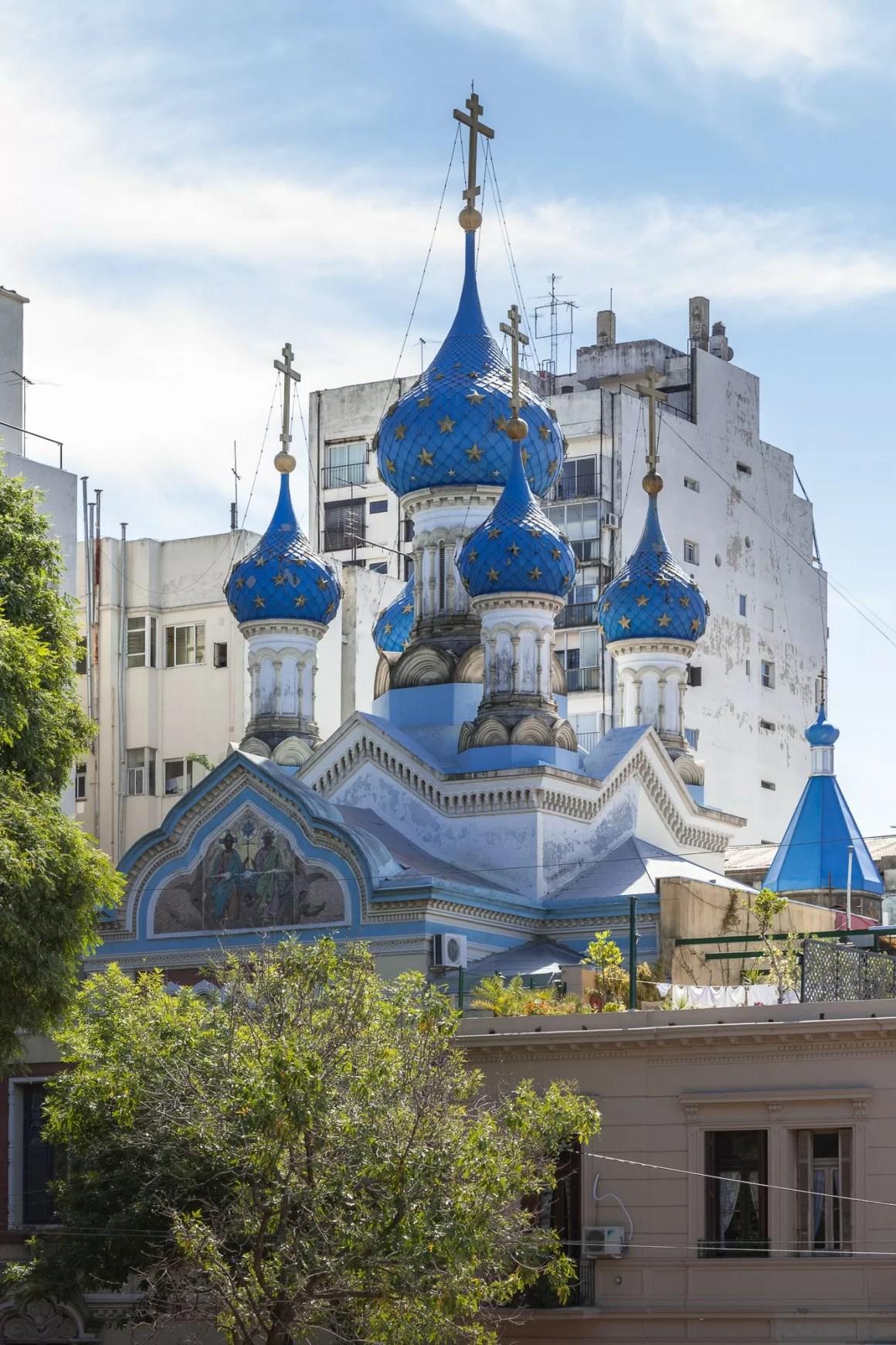 Iglesia Ortodoxa Rusa en San Telmo