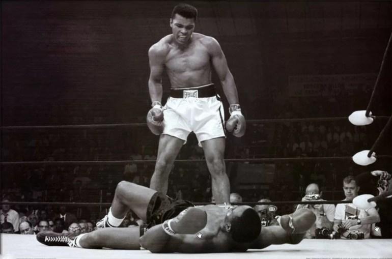 Muhammad Ali vs Sonny Liston - Donald L. Robinson - 1965