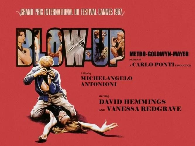 Blow Up de Antonionio, imperdible película para todo fotógrafo