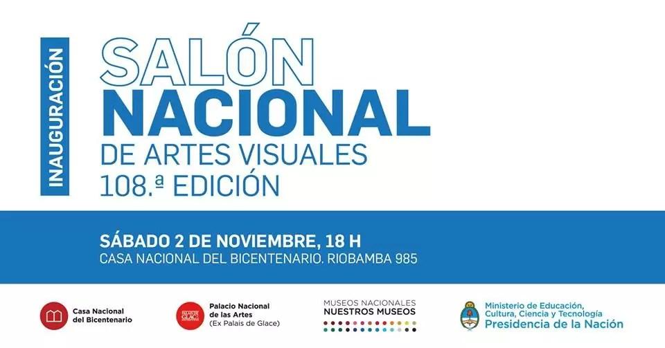 EXPOSICION DEL SALON NACIONAL DE ARTES VISUALES 2019