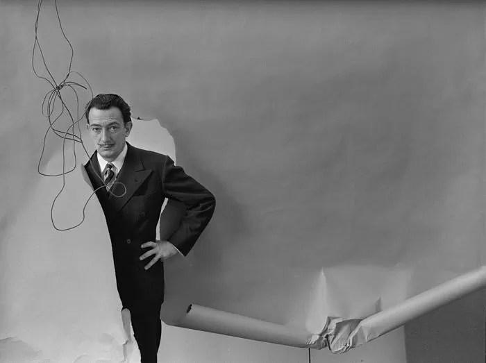Arnold Newman (1918-2006) - Salvador Dali, New York, 1951