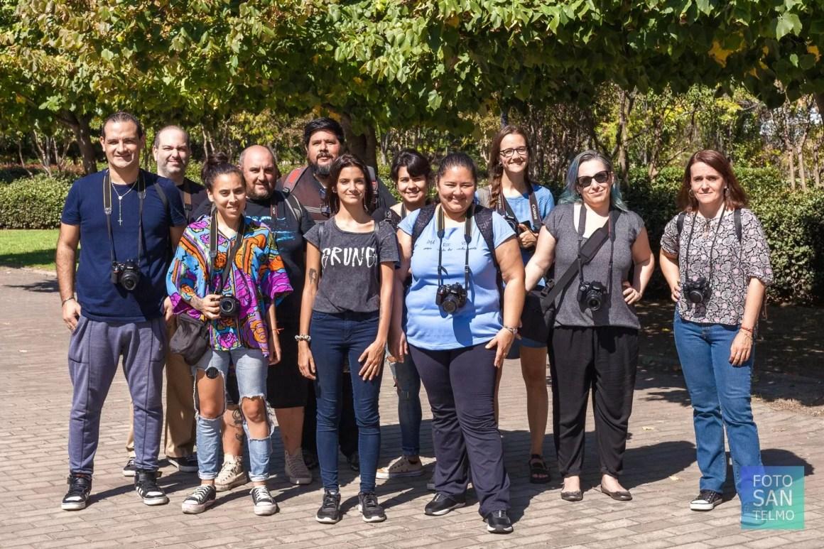 Grupo del Curso de Fotografia Intermedio 2