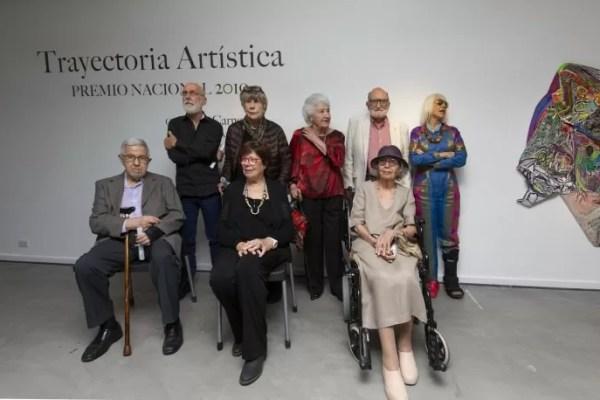 Premio Nacional a la Trayectoria Artística 2019 en el Bellas Artes