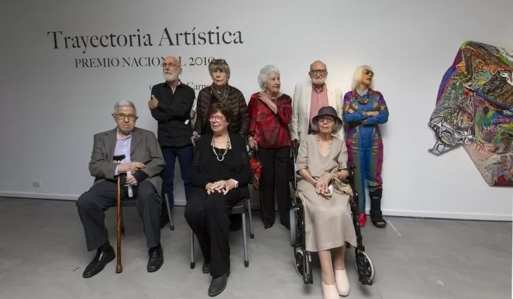 Premio Nacional a la Trayectoria Artistica 2019 en el Bellas Artes
