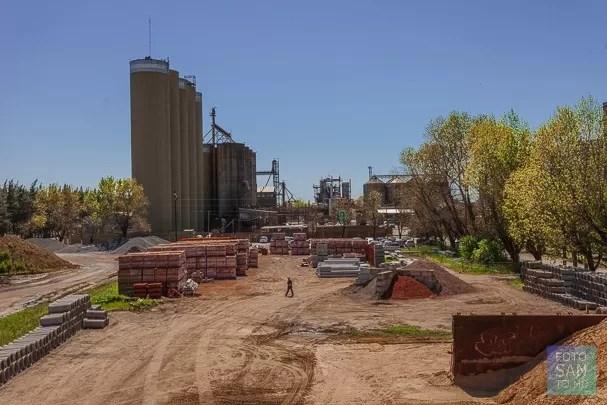 foto de una fábrica de la provincia de Buenos Aires