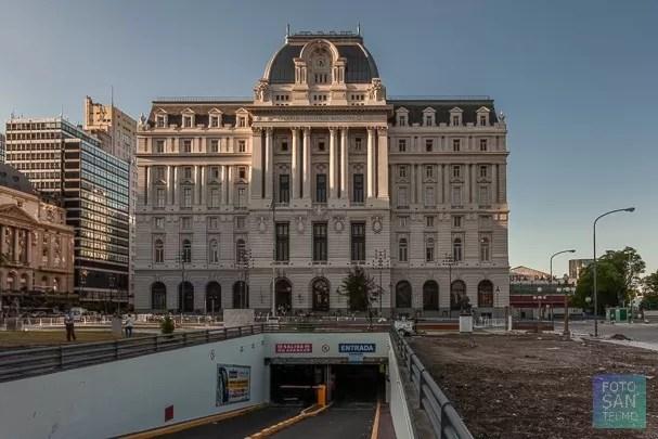Fotografía del edificio de CCK ex Edificio de Correos de Buenos Aires
