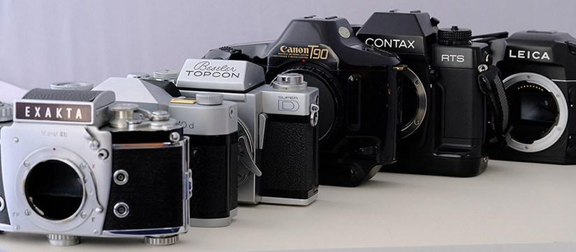 Die kürzeste Geschichte der Spiegelreflex-Kamera (SLR)