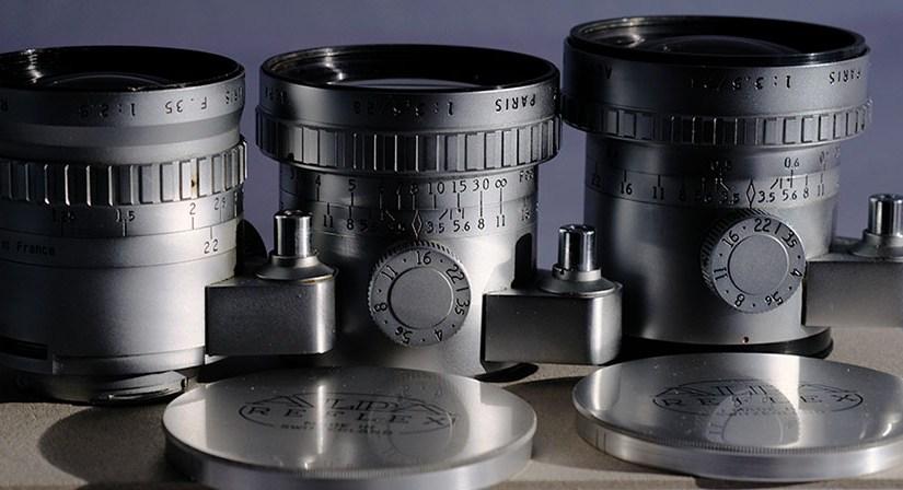 Die Qualität historischer Angénieux Foto-Objektive – 1.  Festbrennweiten,    1b. Retrofocus-Weitwinkelobjektive,      C. 24mm f3.5
