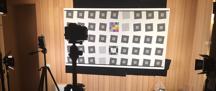 Fotosauriers optisches Testverfahren für  Objektive mit IMATEST