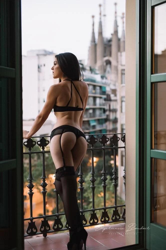 Fotos boudoir en Barcelona · Sesión de fotos sexy