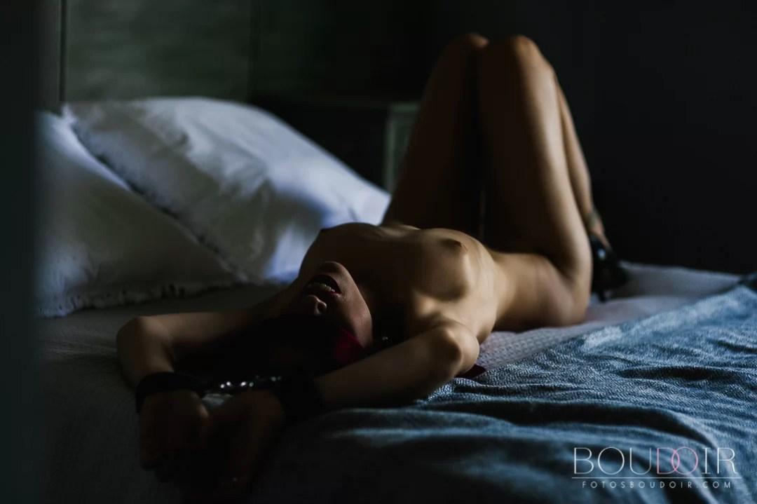 Sesión de fotos 50 sombras de Grey - Book fotos sexy - Boudoir