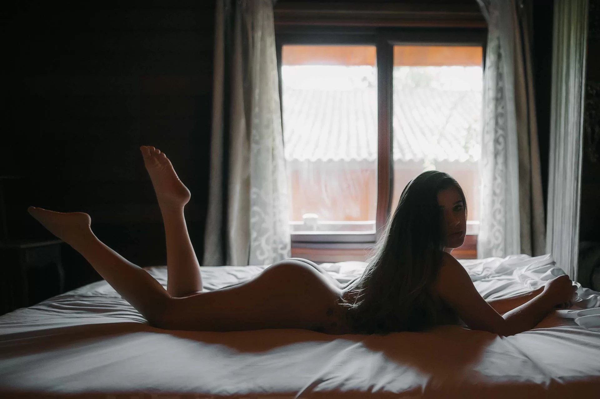 sesión de fotos desnuda sensual