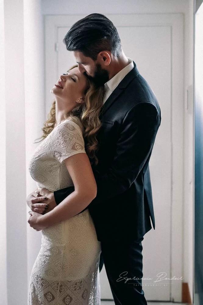 sesión fotos de pareja Boudoir - Book fotos sensual y elegante de pareja (3)