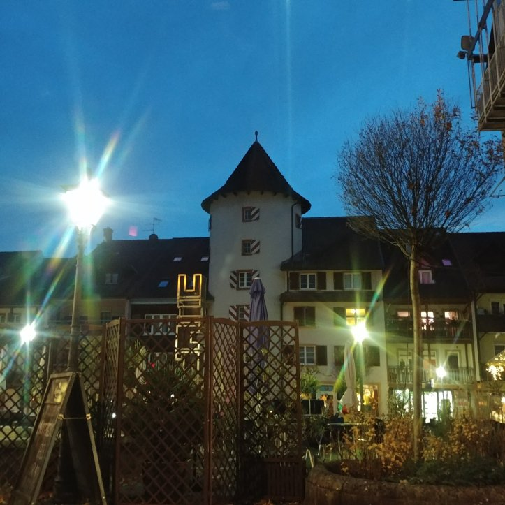 Beautiful night in Waldshut