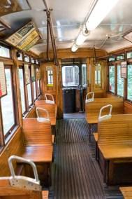 Fotografieren im Straßenbahn-Museum