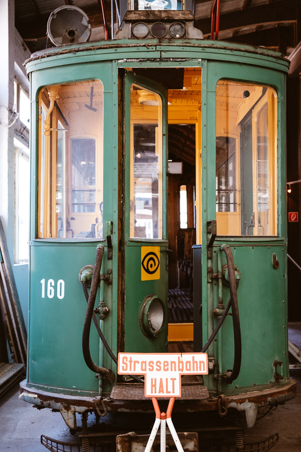 Fotografieren im Straßenbahn-Museum Hannover