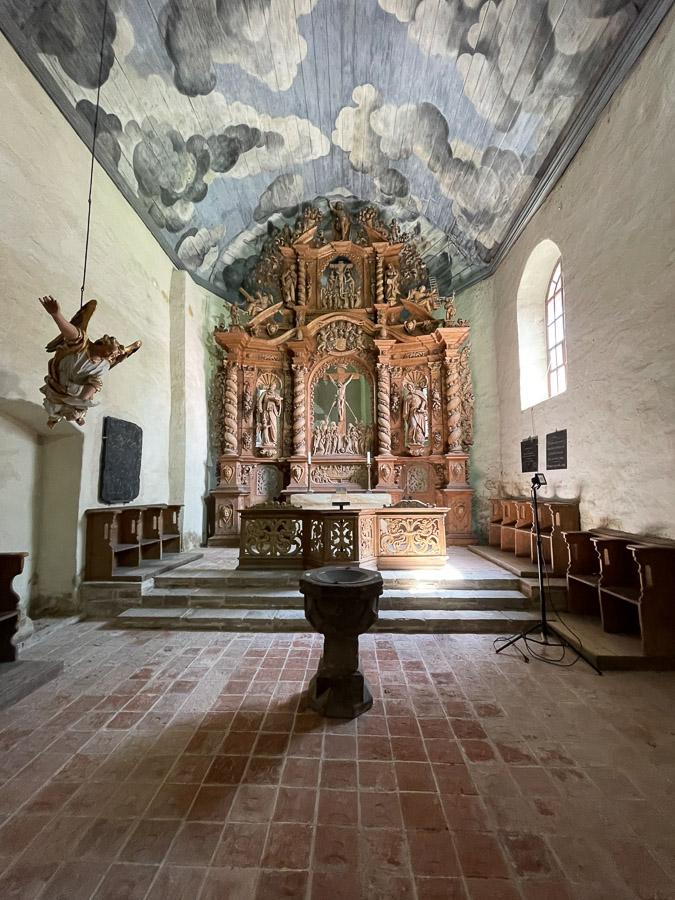 im Kloster Ilsenburg