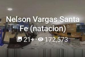 Nelson Vargas Santa Fe (natación)  2020