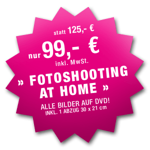 Fotoshooting zu Hause ab 99 €