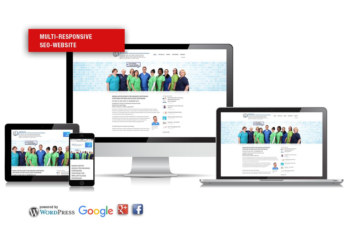 Multi responsive Websites für Ärzte