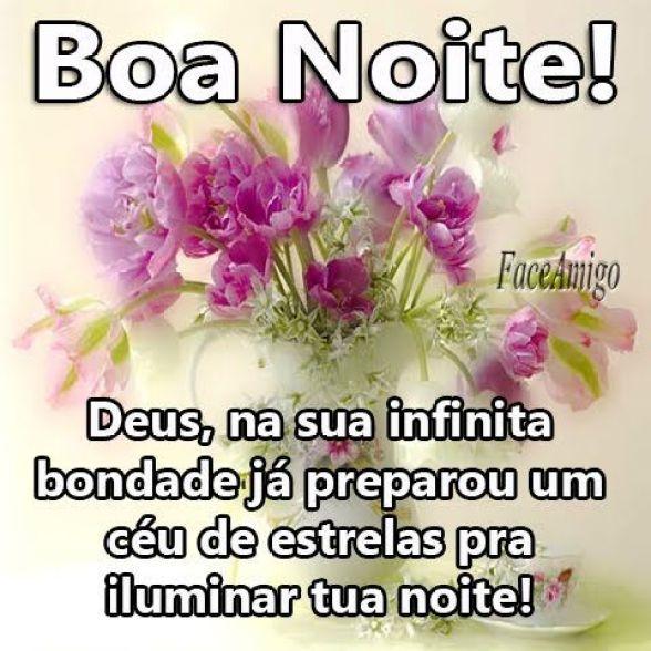 Boa noite! A bondade de Deus é infinita