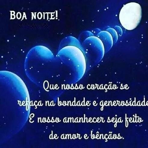 Boa noite amor é amar e viver amando sempre