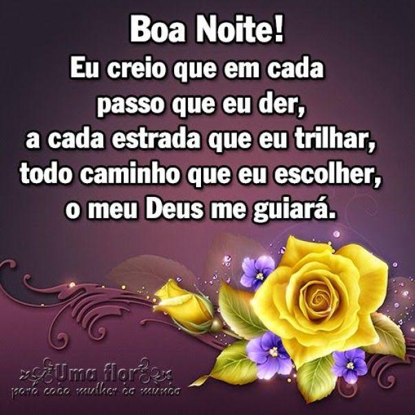 Boa noite! confia em Deus e Ele te guiara