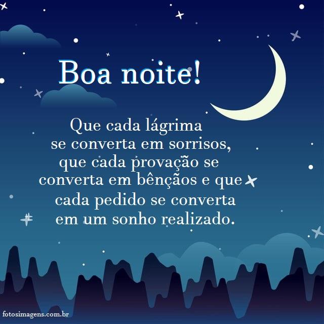 Boa noite estrelado